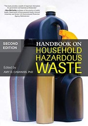Cover of: Handbook on Household Hazardous Waste | Amy Cabaniss