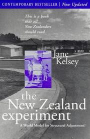 Cover of: The New Zealand experiment