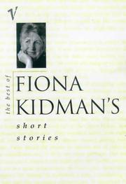 Cover of: The best of Fiona Kidman's short stories