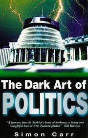 Cover of: dark art of politics | Simon Carr