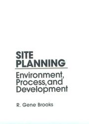 Cover of: Site Planning | Gene Brooks
