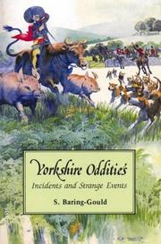 Cover of: Yorkshire Oddities | Sabine Baring Gould