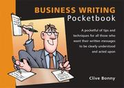 Cover of: Business Writing Pocketbook