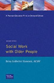 Social work with older people by Betsy Ledbetter Hancock