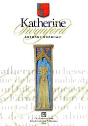 Cover of: Katherine Swynford