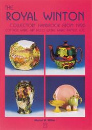 Cover of: The Royal Winton Collector's Handbook