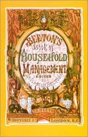 Cover of: Beeton's Book of Household Management, 1861