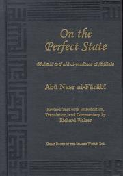 On the perfect state by Fārābī.