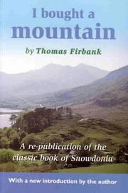 I bought a mountain by Thomas Firbank