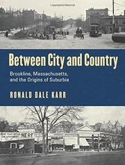 Cover of: Between City and Country