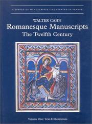 Romanesque manuscripts by Walter Cahn