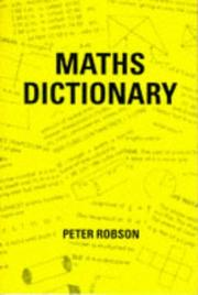 Cover of: Maths Dictionary
