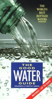 Cover of: Good Water Guide | Maureen Green