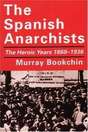 Cover of: Spanish Anarchists