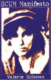 Cover of: Scum Manifesto by Valerie Solanas