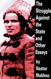 Cover of: The struggle against the state & other essays