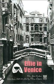 Cover of: Effie in Venice