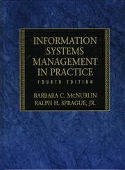 Cover of: Information systems management in practice |