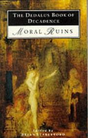 Cover of: The Dedalus book of decadence (moral ruins)