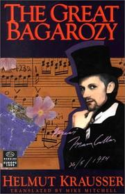 Cover of: The Great Bagarozy (Dedalus Europe 1998)
