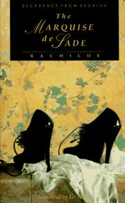 Cover of: The Marquise de Sade