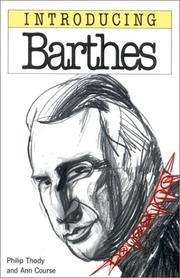 Cover of: Introducing Barthes