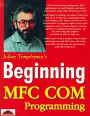 Cover of: Beginning Mfc Com Programming (Beginning)