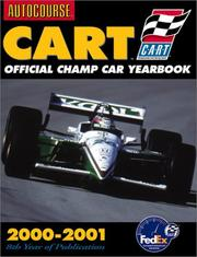 Cover of: Autocourse CART Official Yearbook 2000-2001