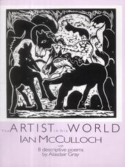 Cover of: The artist in his world