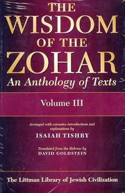 Cover of: The Wisdom of the Zohar