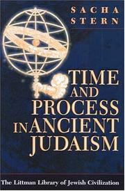 Cover of: Time and Process in Ancient Judaism (Littman Library of Jewish Civilization (Series).) | Sacha Stern