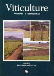 Cover of: Viticulture Volume 1 Resources |