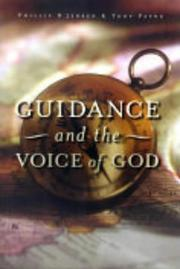 Cover of: Guidance and the Voice of God | Tony J. Payne