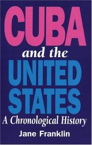 Cover of: Cuba and the United States