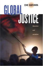 Cover of: Global justice
