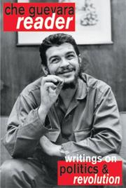 Cover of: Che Guevara reader
