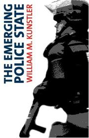 Cover of: The emerging police state