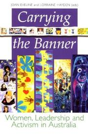 Cover of: Carrying the banner |