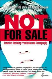 Cover of: Not for Sale |