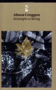 Cover of: Attempts at Being