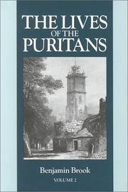 Cover of: Lives of the Puritans, Vol. 2 by Benjamin Brook