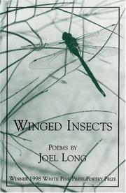 Cover of: Winged insects