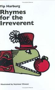 Cover of: Rhymes for the Irreverent | Yip Harburg