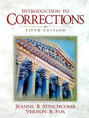 Cover of: Introduction to corrections