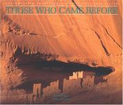 Cover of: Those who came before
