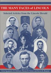 Cover of: The Many Faces of Lincoln