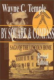 Cover of: By square & compass | Wayne Calhoun Temple