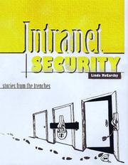 Cover of: Intranet Security | Linda McCarthy