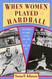 Cover of: When women played hardball