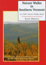 Cover of: Nature walks in southern Vermont